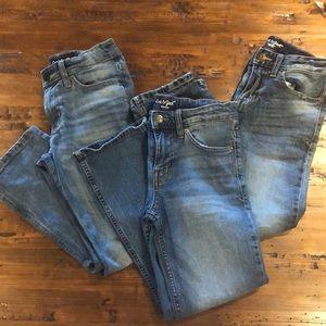 3 pairs Cat & Jack Jeans